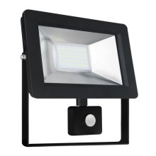 Riflettore LED con sensore NOCTIS 2 SMD LED/30W/230V IP44 2050lm nero