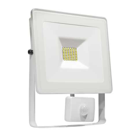 Sensore Lux Con Led 10w 230v Riflettore Led Noctis vNm8y0Own