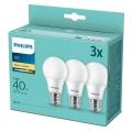 SED 3x Lampadina LED Philips E27/5,5W/230V 2700K