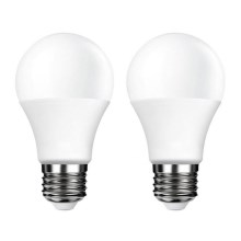 SET 2x Lampadina LED E27/5W/230V 4000K