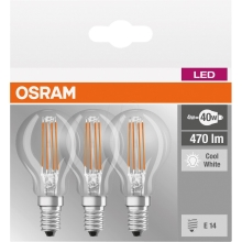 SET 3x Lampadina LED BASE P40 E14/4W/230V 4000K – Osram