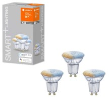 SET 3x Lampadina LED dimmerabile SMART+ GU10/5W/230V 2700K-6500K wi-fi - Ledvance