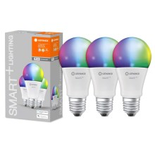 SET 3x Lampadina LED RGB dimmerabile SMART+ E27/14W/230V 2700K-6500K wi-fi - Ledvance