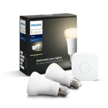 Set di base Philips HUE STARTER KIT 2xE27/9W + dispositivo di interconnessione