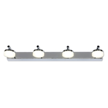 Top Light - Applique a LED da bagno HUDSON 4xLED/5W/230V