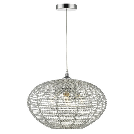 Light Top 60w Filo 230v Con Sospensione Davos Oval XlLampadario 4xe27 A CthQrxsd