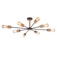 Top Light Star 8 - Lampadario a sospensione con supporto rigido 8xE27/40W/230V