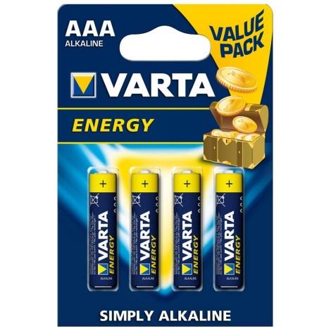 Varta 4103 - 4 pz Batteria alcalina ENERGY AAA 1,5V