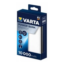 Varta 57976101111 - Power Bank ENERGY 10000mAh / 2,4V bianco